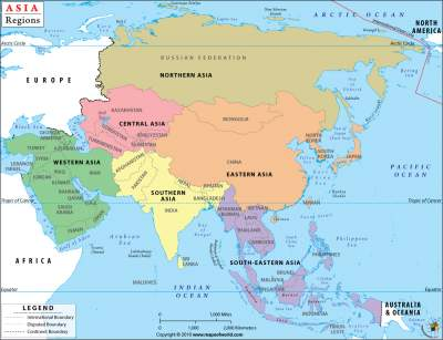 ASIAN COUNTRIES AND REGIONS & CURRENT PRESIDENTS