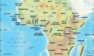 Map Of Africa 2019
