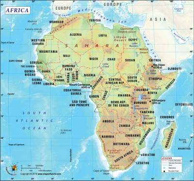 AFRICA COUNTRIES AND CAPITALS, CURRENT PRESIDENTS, POPULATION AND ALL YOU NEED TO KNOW