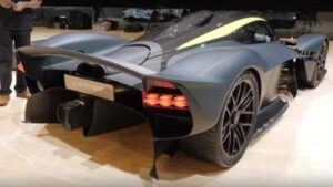 Aston Martin Valkyrie one of the Fast Car In World.