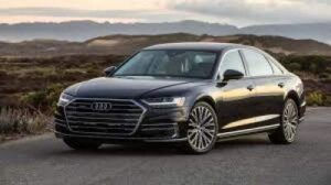 Audi A8 one of the Luxury Car Brand Perception.