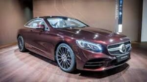 Mercedes S Class On e of the Luxury Car Brand.