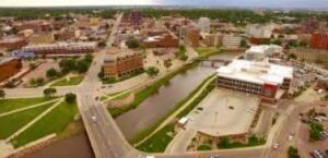 Sioux Falls one of the largest cities in South Dakota.