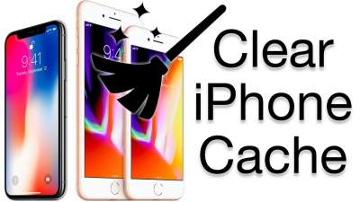 Clear iPhone Cache
