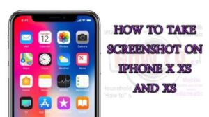 How To screenshot on iPhone XR 2020