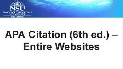 HOW TO CITE A WEBSITE IN APA AND ALL YOU NEED TO KNOW
