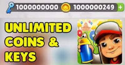 UNLIMITED KEYS AND COINS FOR SUBWAY SURFERS 2020- UNLIMITED COIN HACK