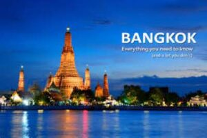 Bangkok one of the Most Visited Cities in the World