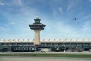 Washington Dulles International Airport, Washington DC one of the Top 10 Biggest Airport in the US 2019