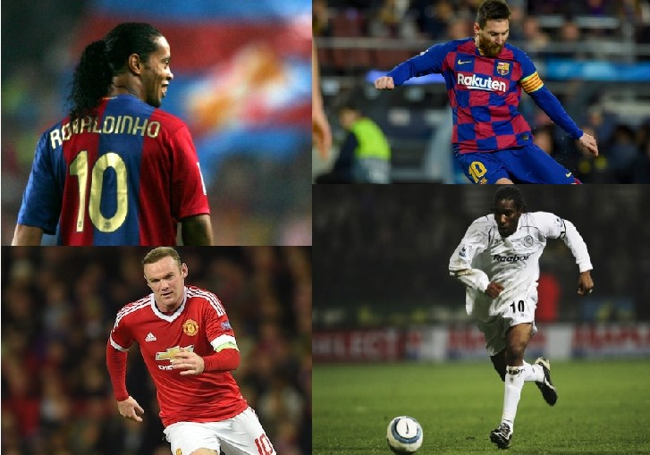 Best No 10 Jersey players