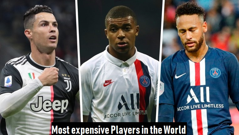 10 Most expensive Players in the World