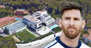 Lionel Messi cars and Houses
