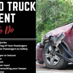 car accident with semi truck
